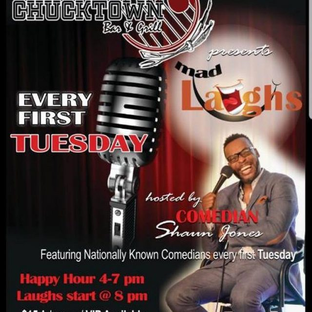 Mad Laughs Comedy Show featuring Marvin Dixon